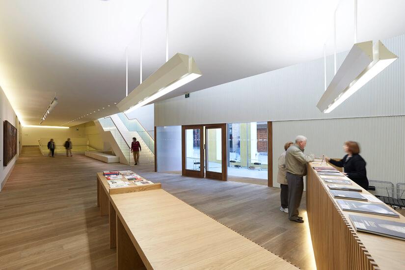 El museo de bellas artes de asturias continúa reforzando su transparencia