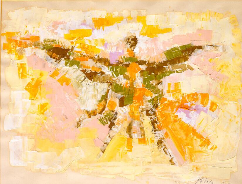 Ícaro, 1958, de Orlando Pelayo