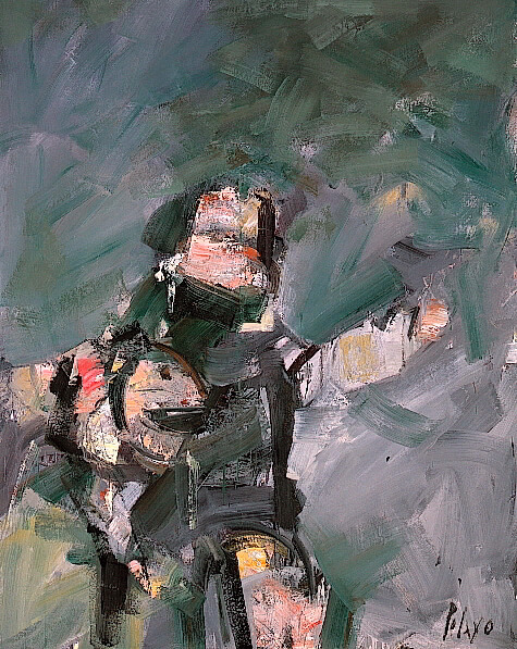 Los oteadores, 1967, de Orlando Pelayo
