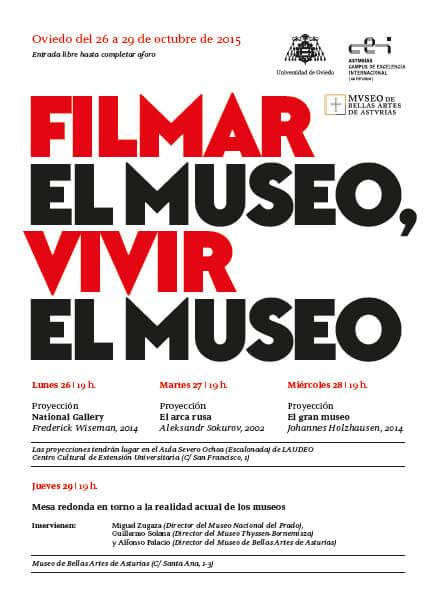 Filmar el Museo, vivir el Museo