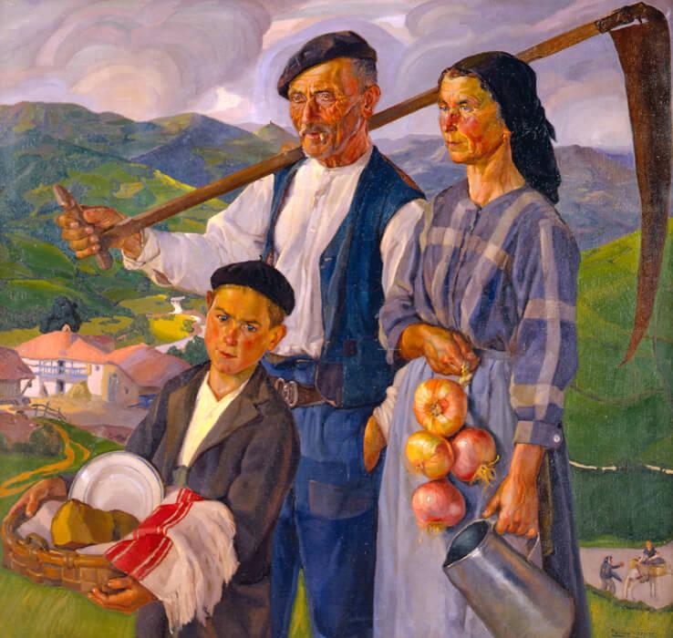 De andecha, 1925, de Paulino Vicente