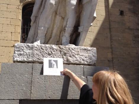 Liberando libros del Museo en Oviedo