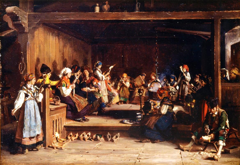 Filandón en Monasterio de Hermo