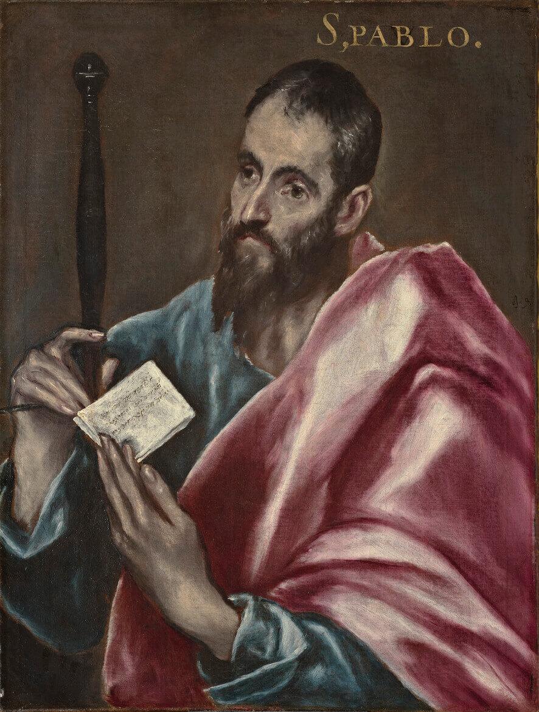 San Pablo (ca. 1608-1614), de El Greco (y taller)