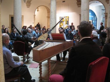 Un concierto en el Museo