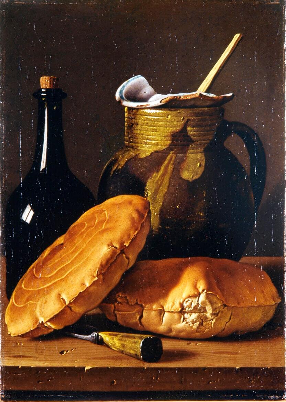 Bodegón de cocina (1772), de Luis Meléndez