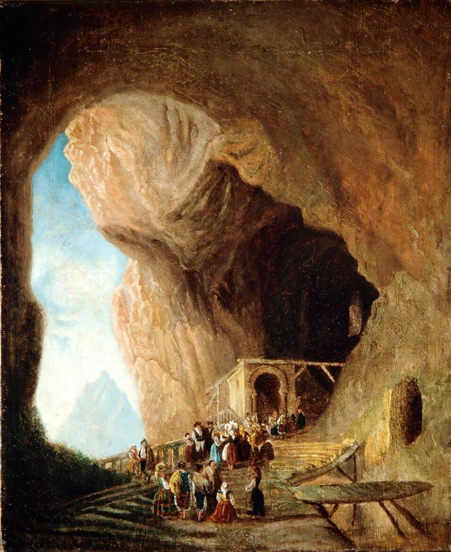 La cueva de Covadonga