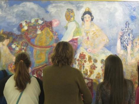 Una visita al Bellas Artes