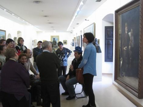 Un grupo durante su visita al Museo.