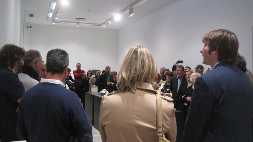 Inauguración de la exposición Cajas. 10 propuestas de cerámica artística en Asturias