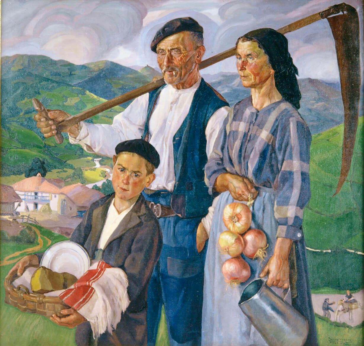 Inauguración de la exposición Homenaje a Paulino Vicente