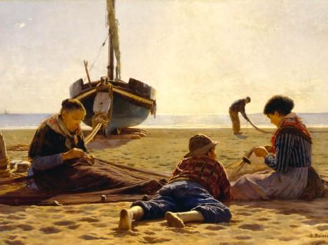 Dionisio Baixeras, Felicidad, 1886.