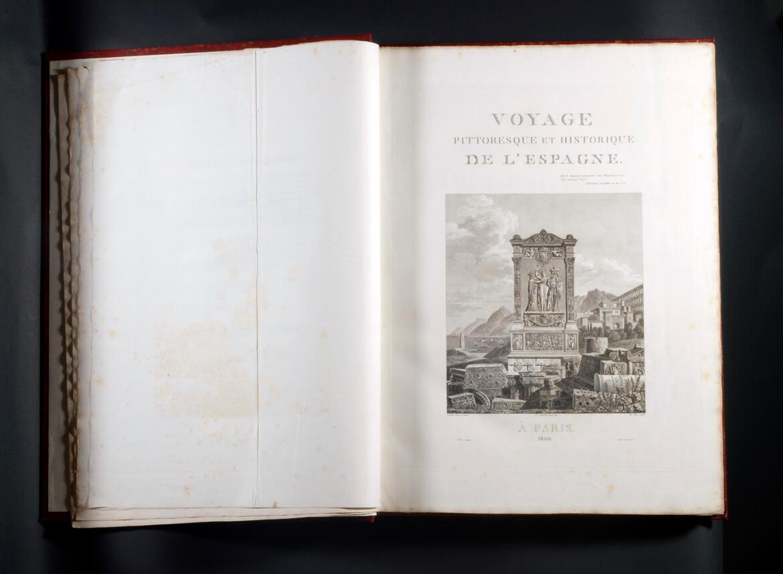 Tesoros de la Biblioteca del Museo (I): el libro de viaje de Laborde
