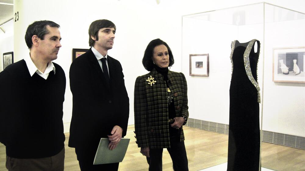 Presentación de la exposición de Balenciaga
