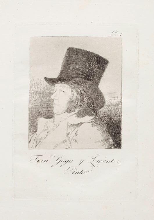 Autorretrato, de Francisco de Goya y Lucientes (1746-1828)