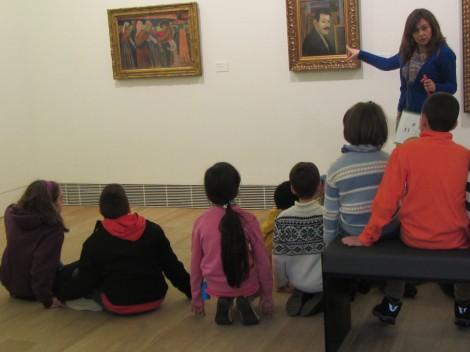 Un taller inclusivo en el Bellas Artes