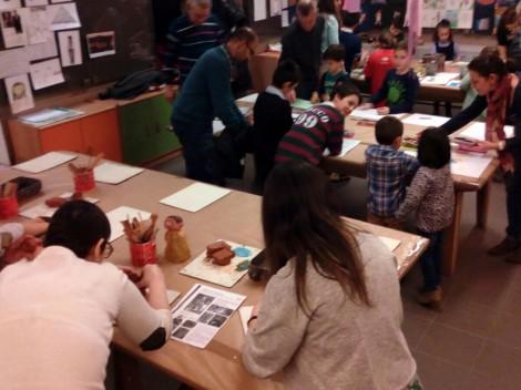 Un taller para familias en el Museo
