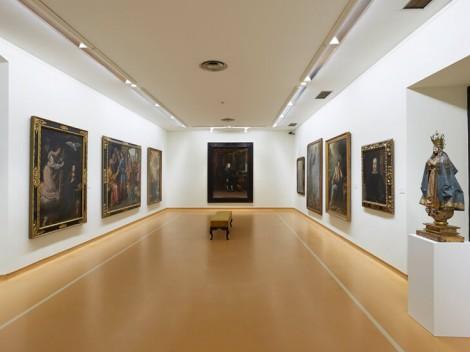 Vista parcial de la sala 3, dedicada al Arte Barroco
