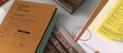 Avance del catálogo de la exposición El vaciado de la huella belga
