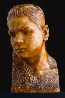 Cabeza del escultor Víctor Fernández Puente