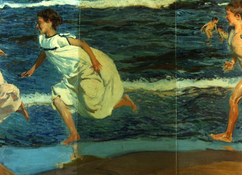 Sorolla Niños en la playa