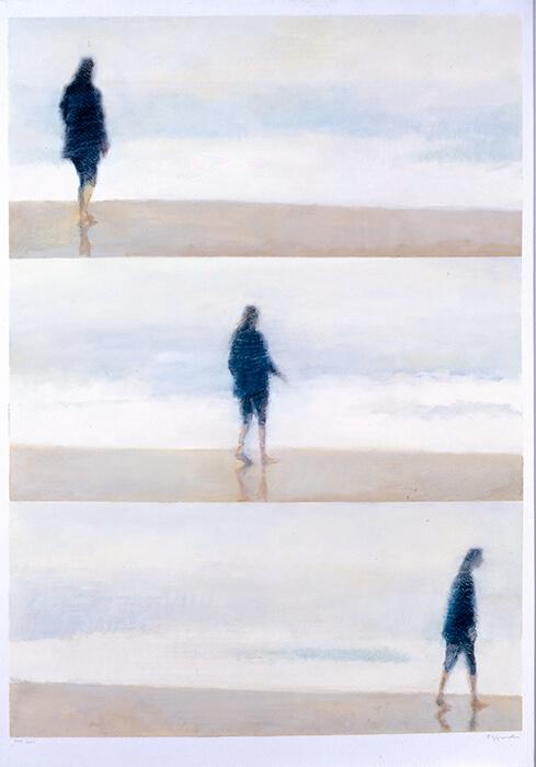 En la playa, González Granell