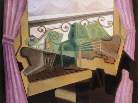 Juan Gris, La fenêtre aux collines, 1923. Colección Cubista de Telefónica