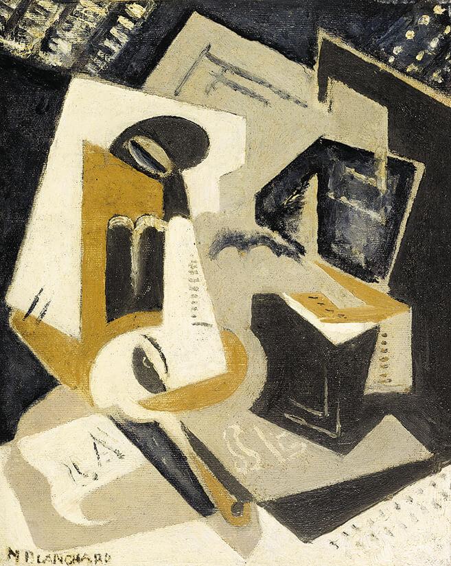 Composición cubista, María Blanchard