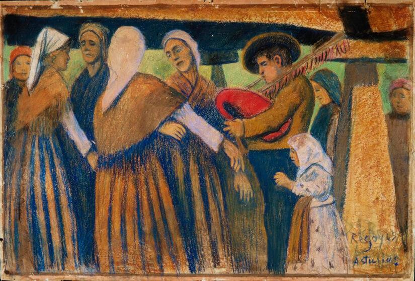 Danza lenta, Asturias de Darío de Regoyos