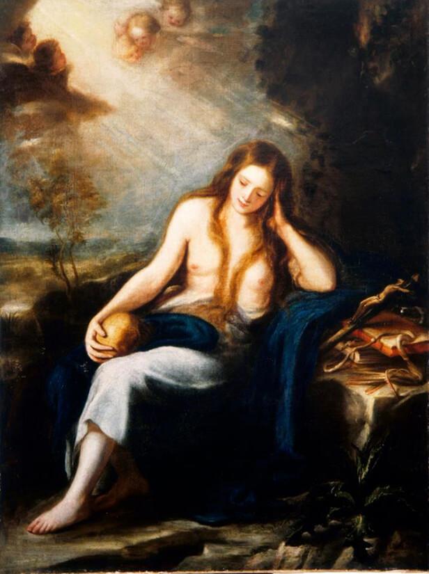 Magdalena penitente de Carreño de Miranda