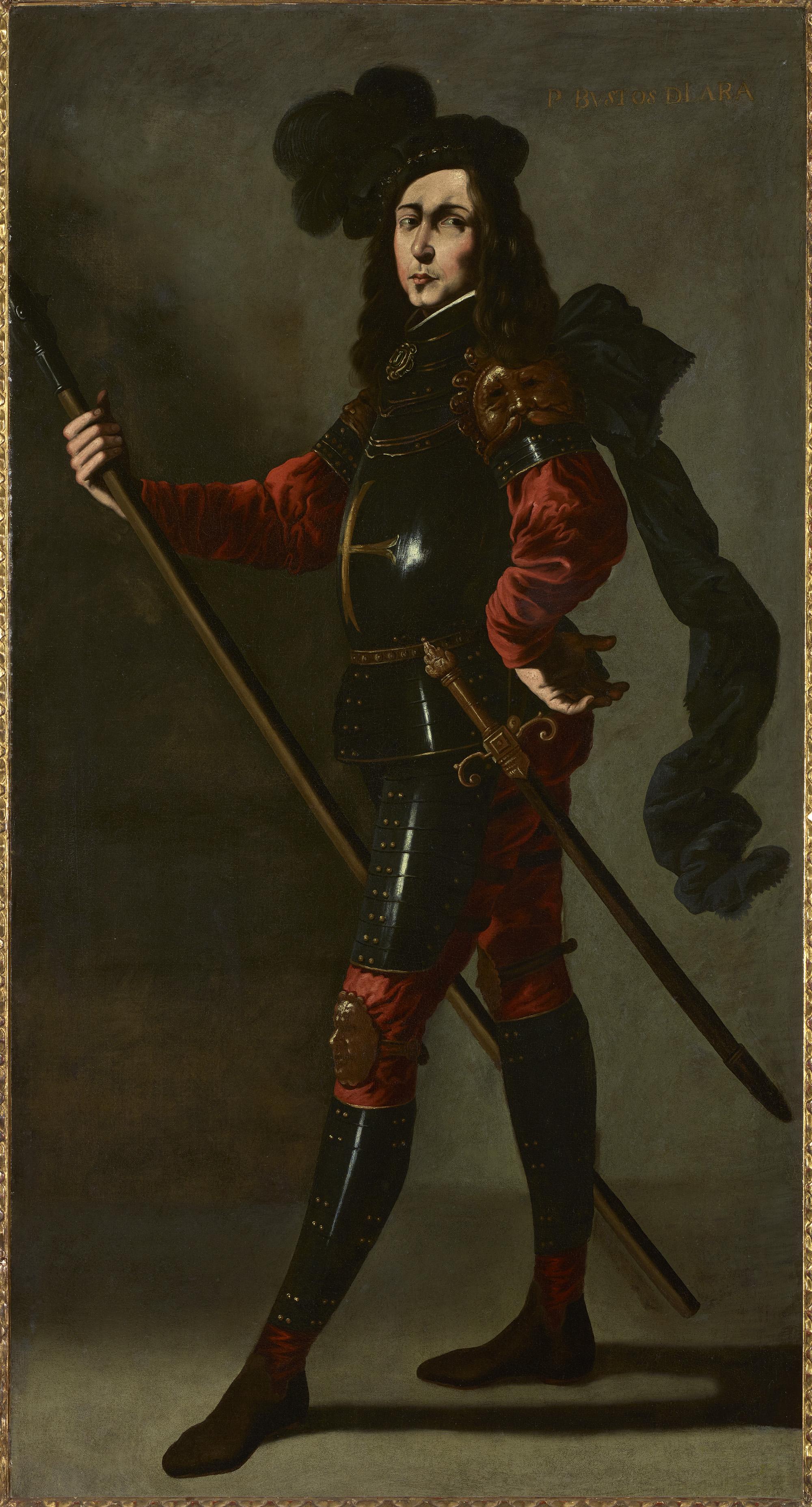 El Infante P. Bustos de Lara de Francisco Zurbarán