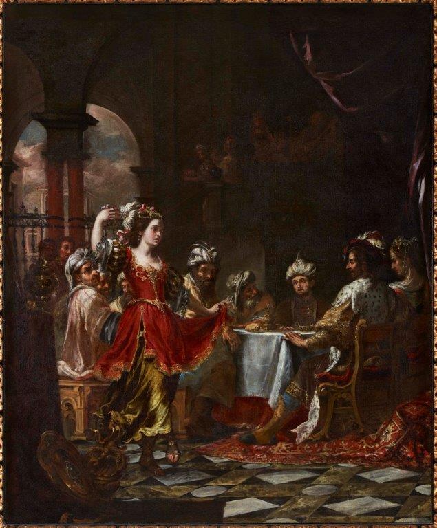 Salomé bailando ante Herodes de Juan de Valdés Leal