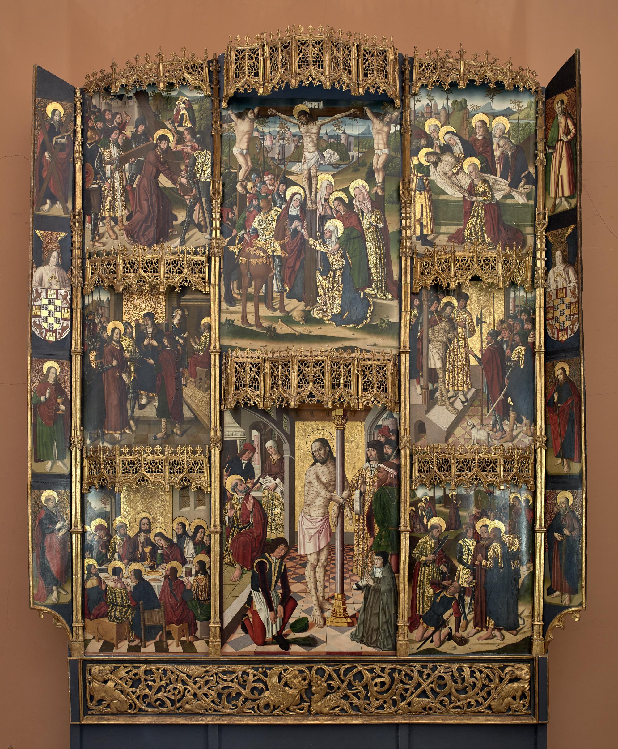 Retablo de la Flagelación de Leonor de Velasco
