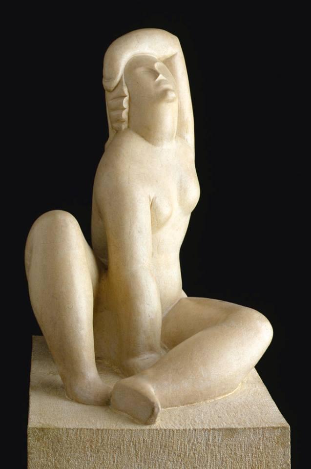 Figura sentada - Goico Aguirre