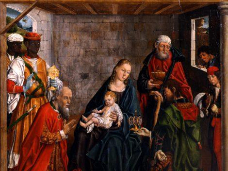Fernando Gallego. Adoración de los Reyes Magos