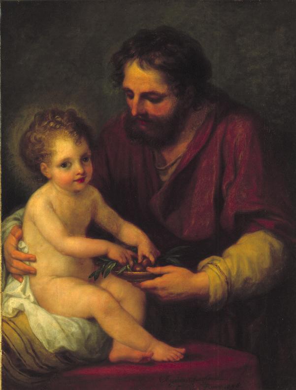 Kauffmann San José con el niño