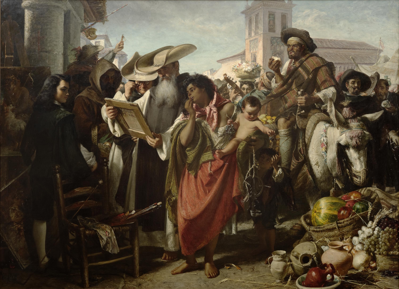 La temprana carrera de Murillo, 1634