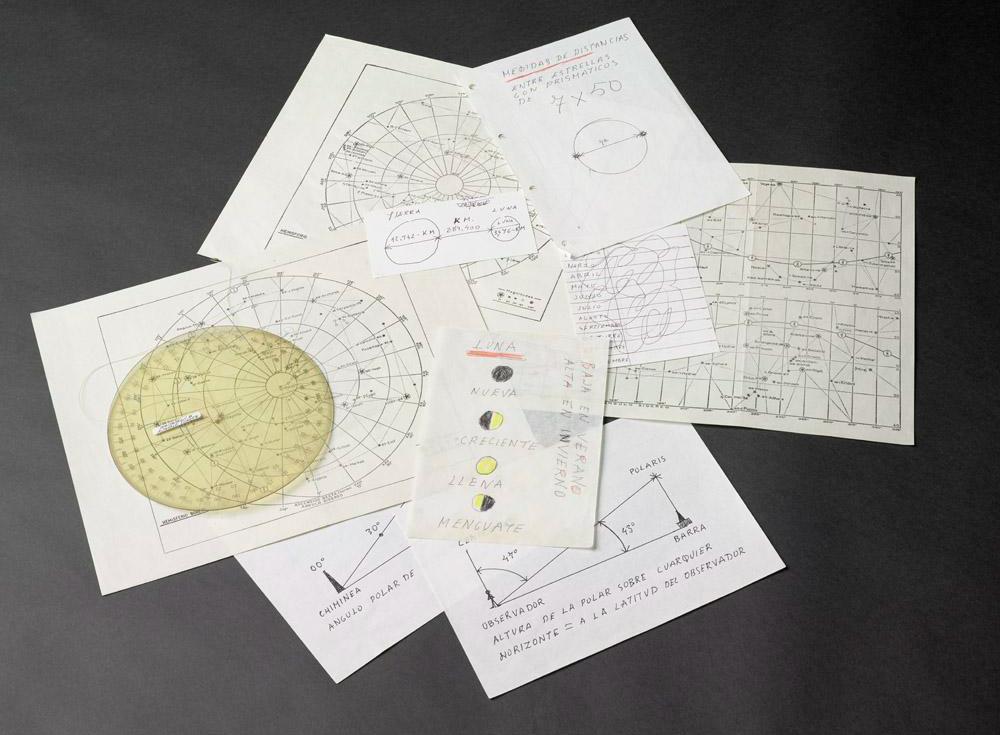 Donación | Objetos y manuscritos sobre Astronomía | Fotografía: Marcos Morilla