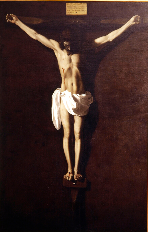 Cristo muerto en la cruz Francisco de Zurbarán (Fuente de Cantos, Badajoz, 1598-Madrid, 1664)