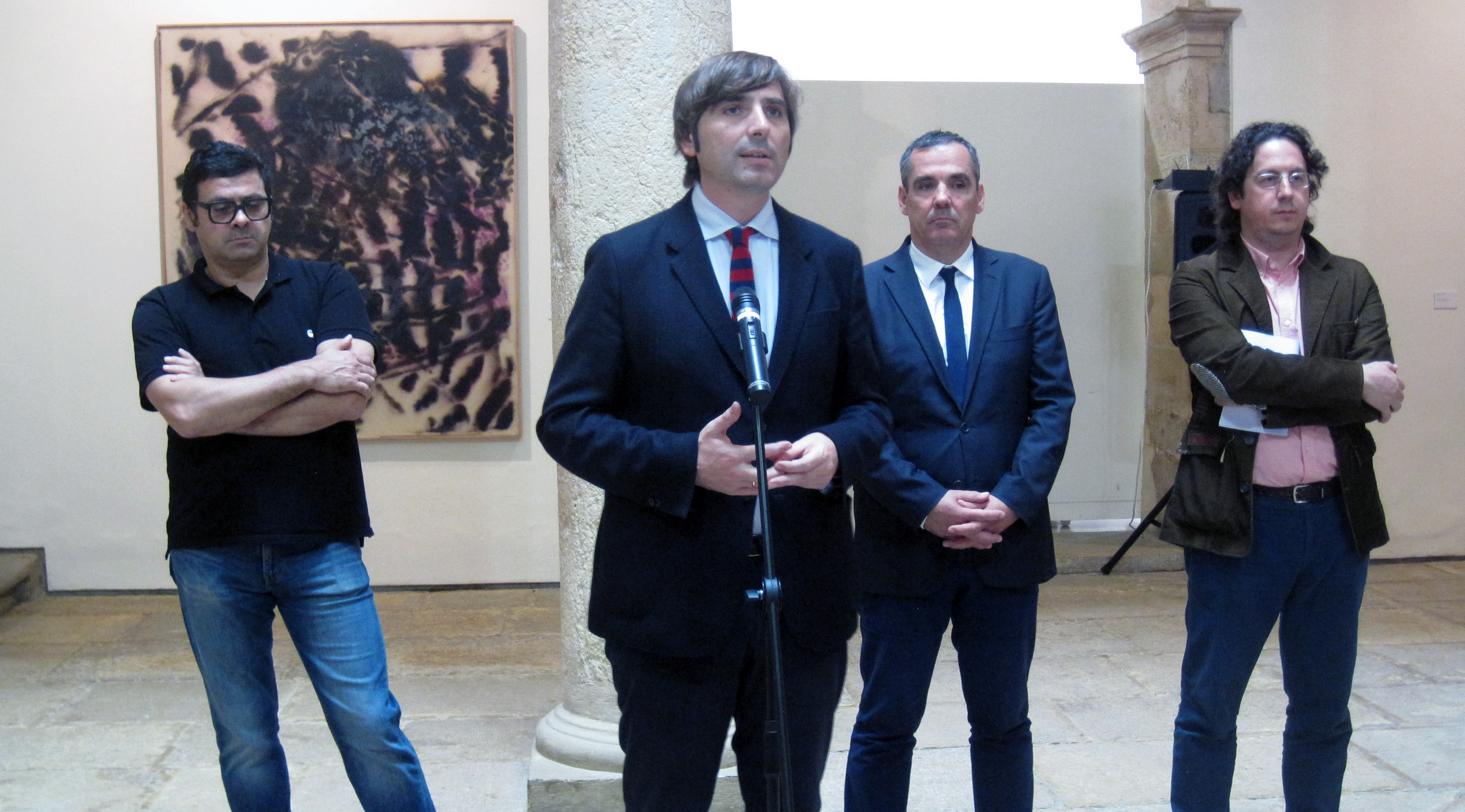 Presentación-exposición de dos obras de Carlos Coronas