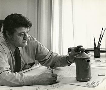 LUIS FUMANAL OTAZO, DIRECTOR ARTÍSTICO DE LA FÁBRICA DE LOZA DE SAN CLAUDIO