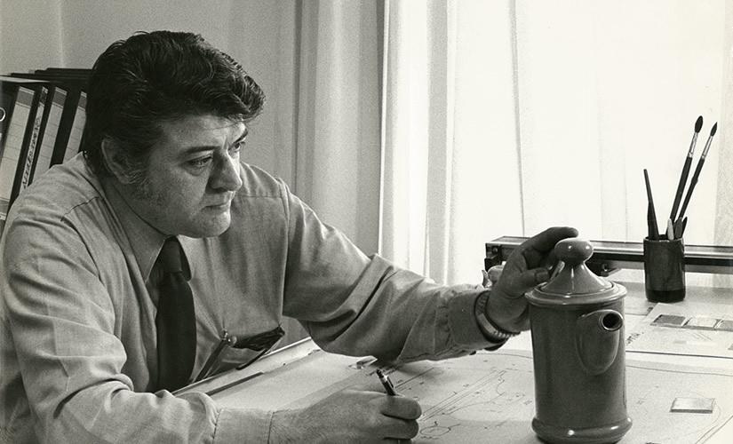 Inauguración de la exposición Luis Fumanal Otazo, director artístico de la fábrica de loza de San Claudio