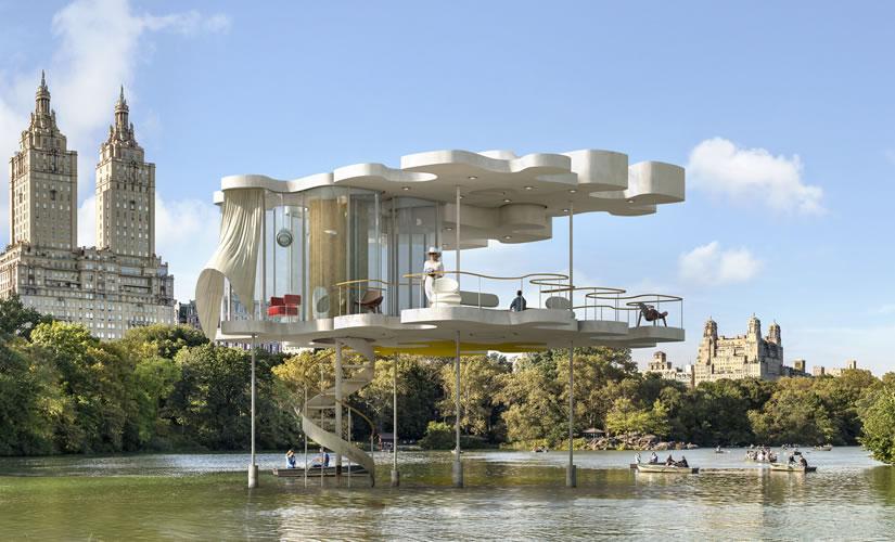 Inauguración de la exposición Construir, habitar, existimar, de Dionisio González