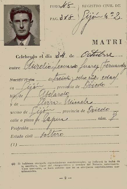 Donación | Documentación personal de Aurelio Suárez | Fotografía: Gonzalo J. Suárez Pomeda.