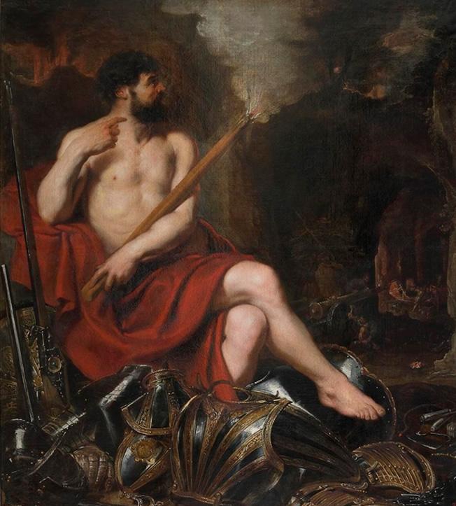 Peter Paul Rubens y Erasmus Quellinus II, Vulcano, hacia 1636-1639. Museo Nacional del Prado. Depósito en el Museo de Bellas Artes de Asturias.