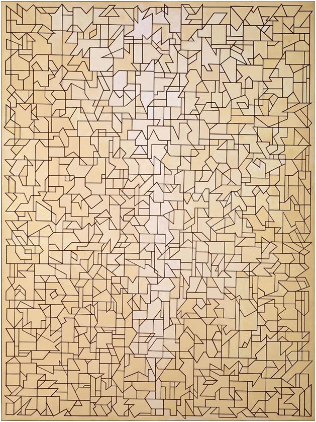 Campo de campos I, 1987. Donación Plácido Arango Arias al Museo de Bellas Artes de Asturias.