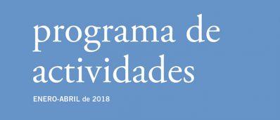 Nueva programación del Bellas Artes (Enero-Abril 2018)