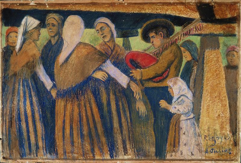 Darío de Regoyos en el Museo de Bellas Artes de Asturias
