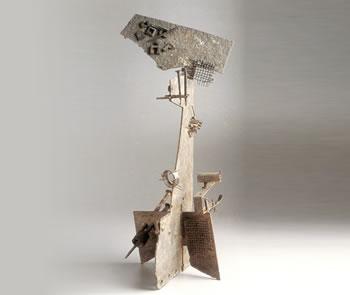 Hierros encontrados  y soldados: Quijote, 1957, de Pablo Serrano