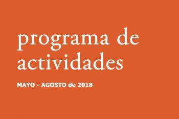 Nueva programación del Bellas Artes (Mayo-Agosto 2018)